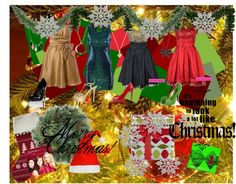 """""""Christmas!"""" by fireflower10112 on Polyvore"""