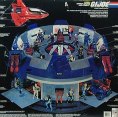 12 Coolest Action Figure Playsets Of The '80s