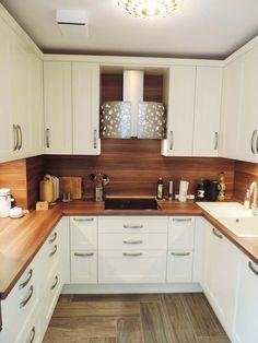 Modern Kitchen Furniture, Modern Kitchen Interiors, Modern Kitchen Design, Kitchen Decor, Flat Interior Design, Interior Design Kitchen, Kitchen Units, Kitchen Cabinet Design, U Shaped Kitchen