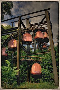 Spreepark Berlin - 2002 the park was declared insolvent and  fell into disrepair. 2011 action film Hanna was filmed at the park.    The owner was jailed in 2004 for drug smuggling.