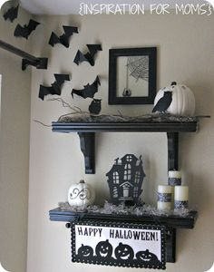 Halloween decorated