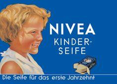 NIVEA Retroanzeige - 1935. #nivea #retro