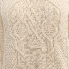 make my own Alexander McQueen Aran Skull Knit Jumper for less than $1085 Similar scull pattern here: http://www.ravelry.com/patterns/library/cabled-skull-chart-for-pullover