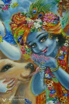 As the source of all sweetness, nothing sweeter than Krishna exists 😊💛 Krishna Lila, Little Krishna, Cute Krishna, Radha Krishna Photo, Krishna Art, Lord Krishna, Radhe Krishna, Krishna Pictures, Krishna Images