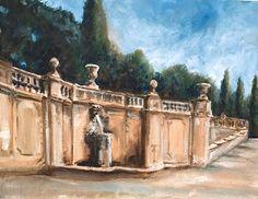 Villa Torlonia, Frascati oil