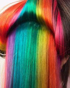 Hidden Rainbow by @xfrancescamx #blog #supercoolcolour