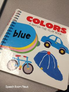 Speech Room News: Color Book-A favorite resource! Great activity book for preschoolers with many speech/language uses. Pinned by SOS Inc. Resources. Follow all our boards at pinterest.com/sostherapy for therapy resources.