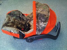infant boy camo seat cover