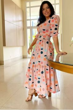 Modest Outfits, Modest Fashion, Chic Outfits, Fashion Dresses, Simple Dresses, Pretty Dresses, Summer Dresses, Feminine Dress, Classy Dress