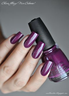 nailbamboo: China Glaze Nice Caboose!