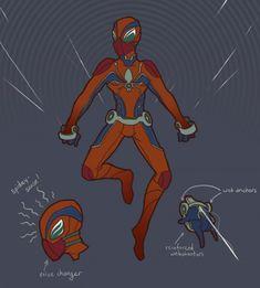 Spider-Man Redesign by Alex Mitchell