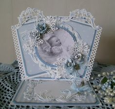 From crafts table: Baby Cards
