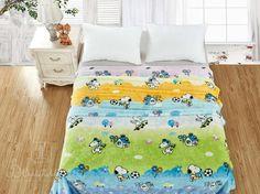 Плед детский из фланели БАМБИНО VAR-8 150х200 от Cleo (Китай) - купить по низкой цене в интернет магазине Домильфо