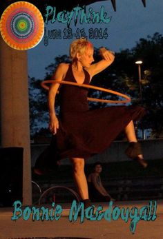 Bonnie MacDougall of HavenHoopDance, began hooping in 2002 on the Weaver St. Market lawn in Carrboro, NC after an injury left her unable to continue her intensive running regimen. She has never looked back. A weekly student of Jonathan Baxter's, founder of the HoopPath, for 5 years, Bonnie's practice is nourished with meditative movement as well as technical hoop artistry.