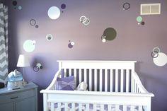 Project Nursery - Purple, Gray & Teal
