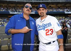 Pepe Aguilar and Adrian Gonzalez