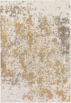 Egypt EGT-3077 Beige/Gold Contemporary Rug