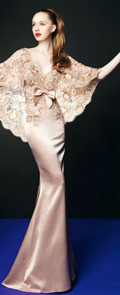 Zuhair Murad for Rosa Clará. I was just looking at Rosa Clara wedding gowns last night! Dresses Elegant, Pretty Dresses, Formal Dresses, Wedding Dresses, Prom Dresses, Bride Dresses, Sparkly Dresses, Dresses 2013, Long Dresses