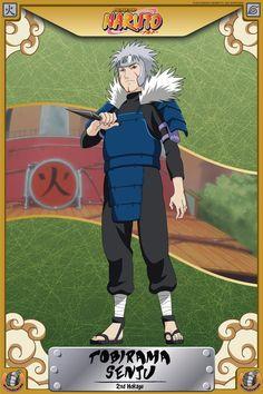 Tobirama Senju (2nd Hokage)  (Naruto)
