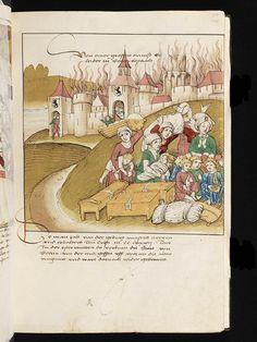 baby cradle Bern, Burgerbibliothek, Mss.h.h.I.16, f. 111 – Diebold Schilling, Spiezer Chronik