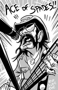 Image result for lemmy kilmister cartoon Hard Rock, Music Artwork, Metal Artwork, Black Sabath, Metal Bands, Rock Bands, Arte Punk, Rock Band Posters, Rock And Roll History