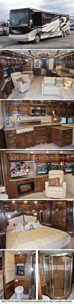 2015 Tiffin Motorhomes Allegro Bus 45LP - Class A Diesel