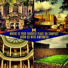Ready for week two? Show your favorite place using #MyUmich!