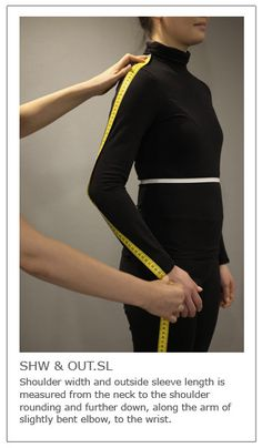 Learn how to take the body measurements to draft basic blocks and make sewing patterns for garments. A complete instruction explained with text and pictures. Taking Measurements, Body Measurements, Pattern Cutting, Pattern Making, Fashion Illustration Dresses, Bra Pattern, Sewing Basics, Sewing Tips, Pattern Drafting