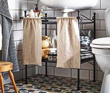 Snelle oplossingen voor meer opbergruimte in de badkamer