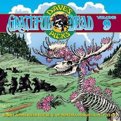 The era-epitomizing set, 'Dave's Picks Volume 9,' the Grateful Dead are on point.