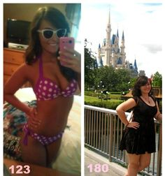 57 pounds in just 6 months. 56 -- How she lost 12 dress sizes in 5 months.