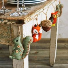 Woodland Garland, available at #surlatable