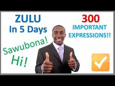 Learn Zulu in 5 days with our list of 300 most common expressions and words. This is a crash course in Zulu also called isiZulu. Croatia Travel, Thailand Travel, Italy Travel, Bangkok Thailand, Zulu Language, Pensacola Beach, Las Vegas Hotels, Nightlife Travel, Hawaii Travel