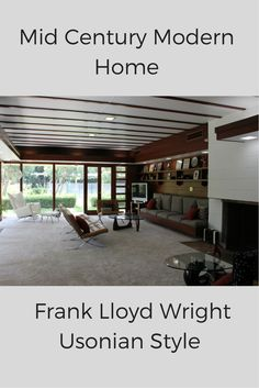 Frank Lloyd Wright mid century modern homes have some much character! Learn how this home used equal parts renovation and remodeling to reinvigorate this Fresno California home - http://blog.innovatebuildingsolutions.com/2015/03/07/mid-century-modern-home-reinvigorated-passion-architectural-integrity/