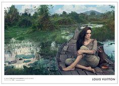 写真:アンジェリーナ・ジョリーがカンボジアを旅するルイ・ヴィトンの広告