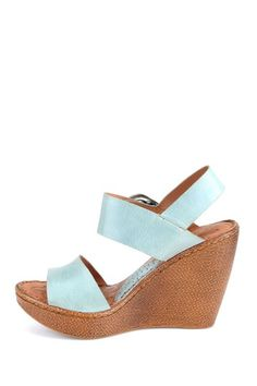 861f32e3c0a4 BORN Verity Wedge by Wedges Up To 75% Off on  HauteLook Blue Wedge Sandals