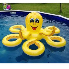 Pool Toys Inflatable - Your swimming pool is going to be a gathering place for the friends and family alike. Funny Pool Floats, Pool Floats For Kids, Giant Pool Floats, Giant Floaties, Baby Pool, Kid Pool, Pool Garden, Pool Backyard, Pool Float Storage