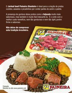 Principais utilidades para a Carne-seca Corte Dianteiro. Jerked Beef Dianteiro.