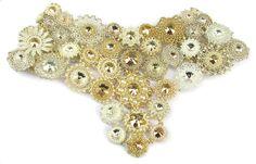 Kolia Stardust wykonana przez 56 artystek z całej Polski i nie tylko dla WOSP! Necklace Stardust made by 56 artists from whole Poland and Czech Republic for charity. Beaded Jewelry, Beaded Necklaces, Jewellery, Brick Stitch, Bead Weaving, Beadwork, Beading Ideas, Beads, Crystals