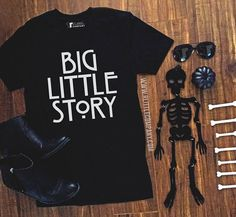 Big Little Story in Tanks Tees and Long Sleeves Unisex // Big Little Reveal // Big Little Gift // Big Little Sorority // Recruitment // Reveal matching
