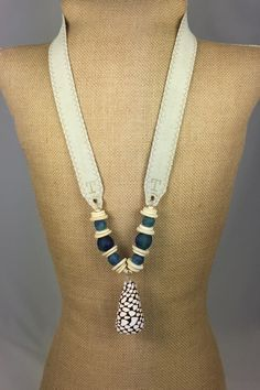 twine & twig tones shell sea blue