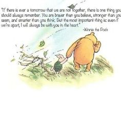 Winnie The Pooh knows everything.