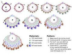 Seed bead jewelry FREE Pattern for PEYOTE FAN Earrings. Modified from Linda's Crafty Inspirations pattern. Page 2 of 2 Discovred by : Linda Linebaugh Beaded jewelry Best Seed Bead Jewelry 2017 - peyote_fan_earrings Beaded Earrings Patterns, Beading Patterns Free, Seed Bead Patterns, Weaving Patterns, Free Pattern, Bracelet Patterns, Art Patterns, Painting Patterns, Beaded Necklace