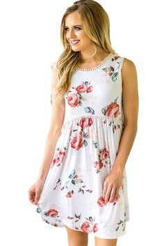 Floral Dresses,floral dresses short ,summer dress, boho dresses– ModeShe.com