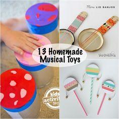 homemade musical toys