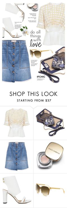 """Untitled #830"" by yexyka ❤ liked on Polyvore featuring O'2nd, Mohzy, Current/Elliott, Dolce&Gabbana and IRO"