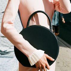 Circle bag. #thenewandthenow #fashion #bags