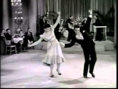 Rock-A-Beatin' Boogie [Bill Haley]. A clip from a movie. If you want to see how we danced in the '50's, watch to the end when the audience joins the exhibition couple.
