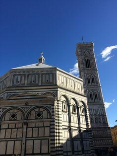 Battistero, Campanile di Giotto al sole..
