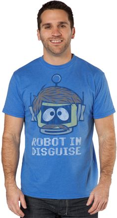 Robot In Disguise Shirt by Junk Food  $14.99  Nice outfit with Denim